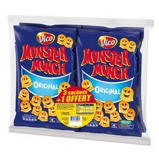 Monster MONSTER MUNCH Biscuit soufflés goût salés