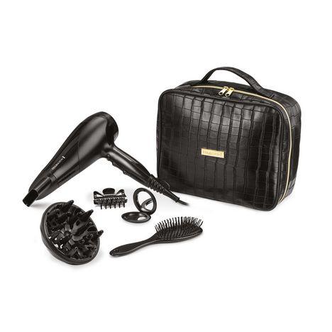 REMINGTON Coffret cadeau sèche cheveux D3195GP - Noir