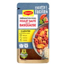 MAGGI Préparation pour poulet sauté façon basquaise 2/3 portions 65g