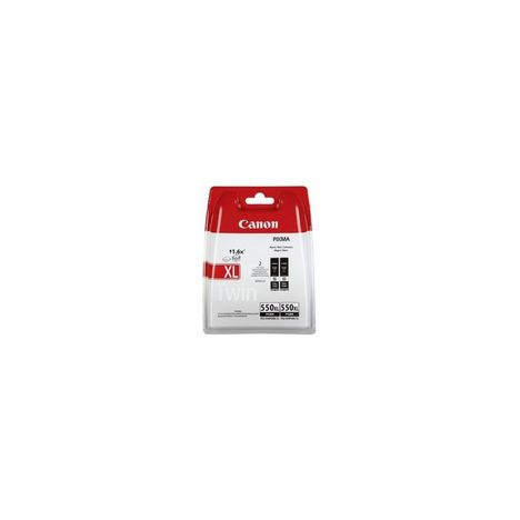 CANON Cartouche d'encre PGI-550XL BK TWIN PACK