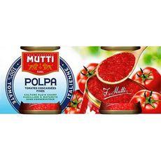 MUTTI Pulpe de tomates fines 2x210g