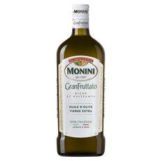 MONINI Huile d'olive vierge extra riche et puissante extraite à froid 75cl