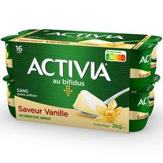ACTIVIA Yaourt bifidus vanille 16x125g