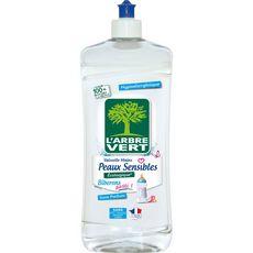 L'ARBRE VERT Liquide vaisselle mains et biberons Ecolabel 750ml
