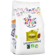 LE TORREF ACTEUR Café grains bio pur arabica Pérou  450g