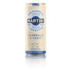 MARTINI Tonic apéritif Floréale 0.30% boîte 25cl