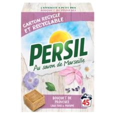 PERSIL Lessive poudre bouquet de Provence 45 lavages 3,15kg