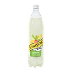 SCHWEPPES Boisson gazeuse zéro saveur lemon citron citron vert 1,5l