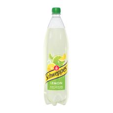 SCHWEPPES Boisson gazeuse saveur lemon citron citron vert 1,5l