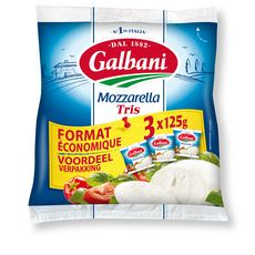 GALBANI Mozzarella 3x125g