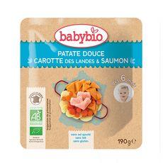 Babybio BABYBIO Sachet patate douce carotte saumon bio dès 6 mois