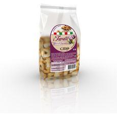 CIRO Taralli biscuits salés aux olives et oignons 225g