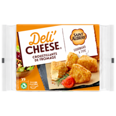 DELI'CHEESE Croustillants au fromage St-Albray 9x20g