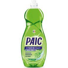 PAIC Liquide vaisselle hygiène 3 en 1 actifs renforcés 750ml