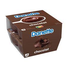 DANETTE Crème dessert chocolat 8x125g