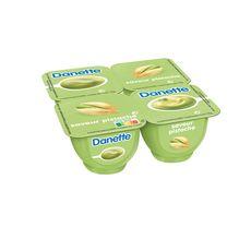 DANETTE Crème dessert saveur pistache 4x125g