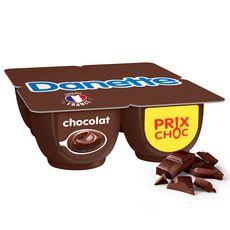 DANETTE Crème dessert au chocolat 4x125g