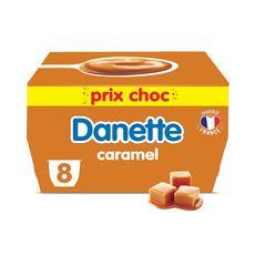 DANETTE Crème dessert caramel 8x125g