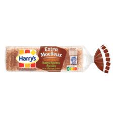 HARRYS Pain de mie complet sans sucres ajoutés  24 tranches 500g