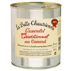 LA BELLE CHAURIENNE Cassoulet au canard 2 personnes 840g
