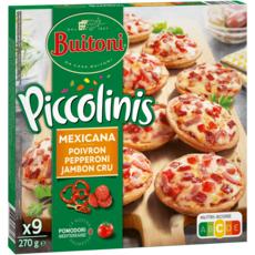 BUITONI Mini pizza à la Mexicaine 9 pièces 270g