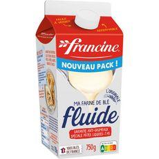 FRANCINE Farine de blé fluide T45 anti-grumeaux 750g