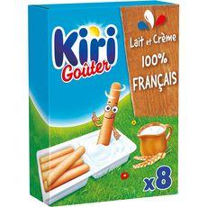 KIRI Goûter Fromage fondu à la crème et gressins 8 portions 280g