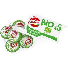 MINI BABYBEL Fromage bio en portions filet de 5 5 portions 100g