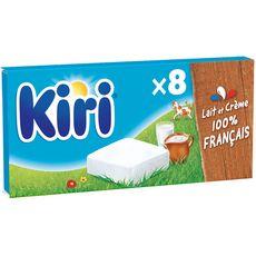 KIRI Fromage fondu à la crème en portion 8 portions 144g