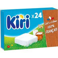 KIRI Fromage fondu à la crème en portion 24 portions 432g