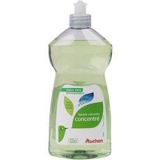 AUCHAN Liquide vaisselle Basilic et laurier Ecolabel 500ml