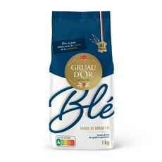 GRUAU D'OR Farine de blé T45 1kg