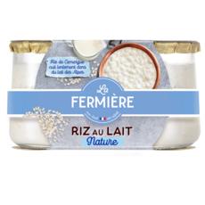 LA FERMIERE Riz au lait 2x160g