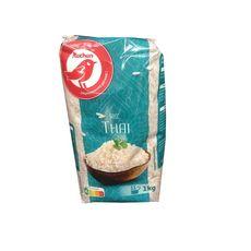 AUCHAN Riz thaï prêt en 10-12 min 1kg