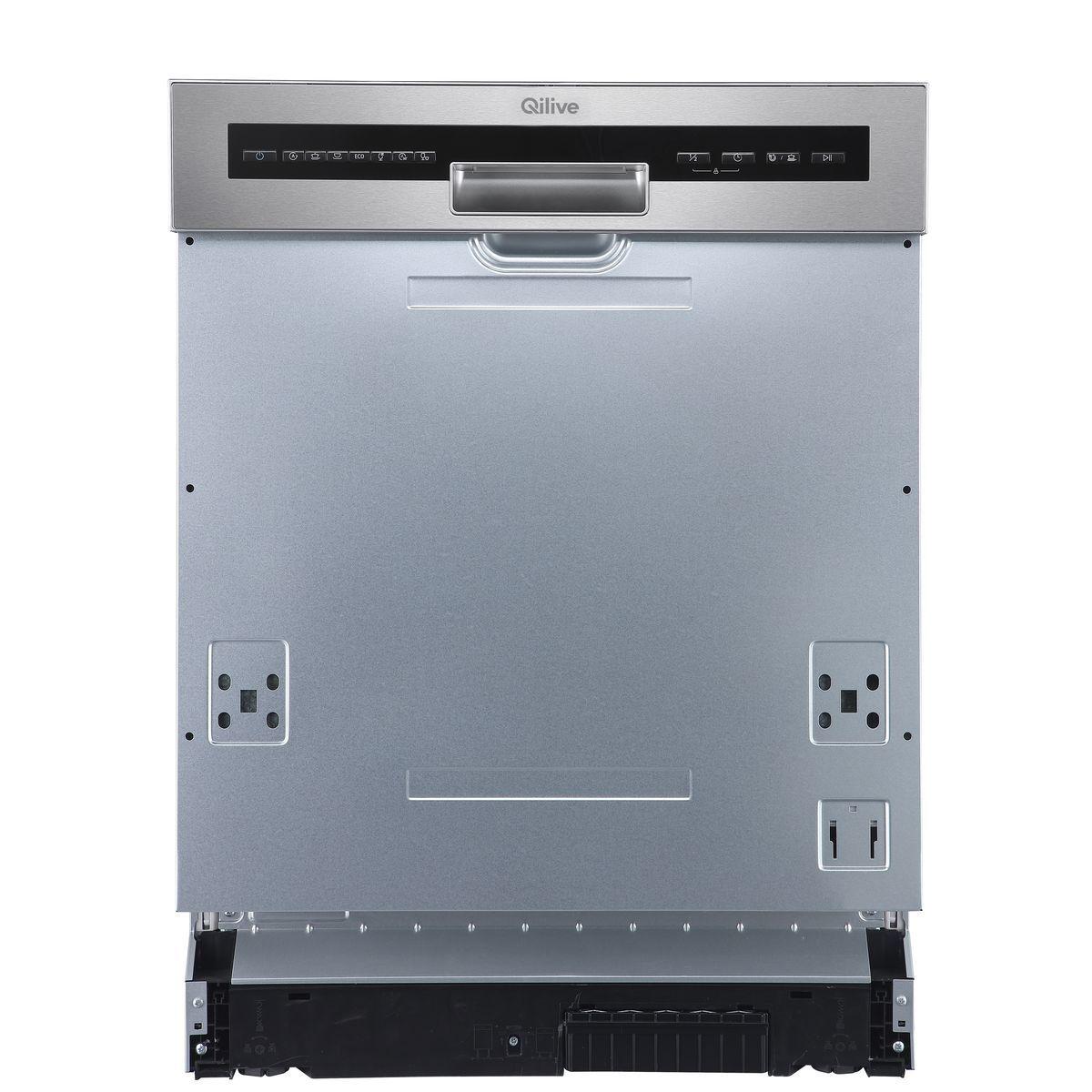 Lave vaisselle semi-encastrable 600070362, 14 couverts, 60 cm, 44 dB, 8 programmes
