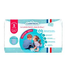 CARRYBOO Couches-culottes taille 5 (12-25kg ) 12h de protection 34 couches-culottes
