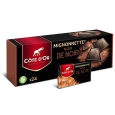 Maison du Café COTE D'OR Mignonnettes de chocolat noir de noir