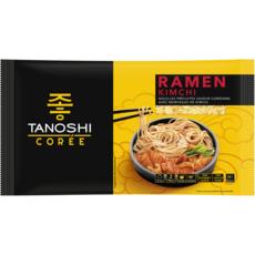 TANOSHI Ramen Kimchi nouilles précuites saveur coréenne avec morceaux de kivchi 360g