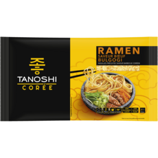 Tanoshi TANOSHI Ramen saveur boeuf bulgogi barbecue coréen