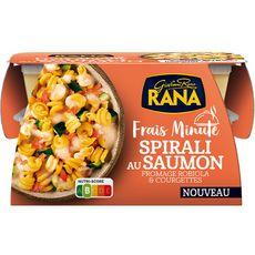 RANA Frais Minute Spirali au saumon fromage robiola et courgettes 1 portion 350g