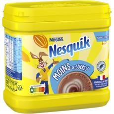 NESQUIK Chocolat en poudre moins de sucres 650g