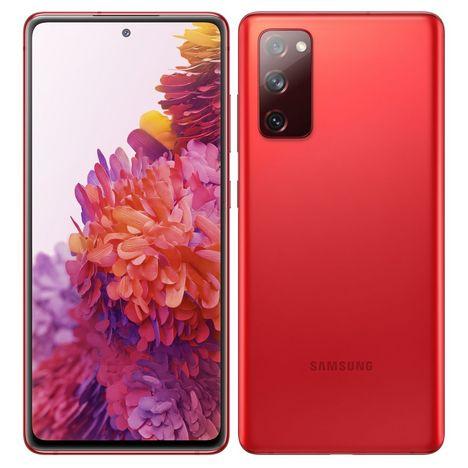 SAMSUNG Smartphone Galaxy S20 FE 4G 128 Go  6.5 pouces Rouge Double Sim