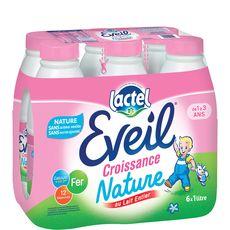 eveil lait U.H.T. bouteille 6x1l de 12mois à 3ans