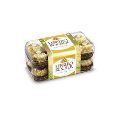 FERRERO Rocher Fines gaufrettes chocolat lait et noisettes 16 pièces 200g