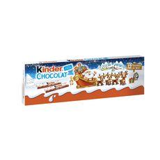 Kinder KINDER Barres chocolatées fourrées au lait
