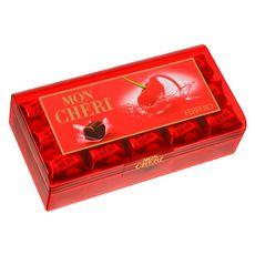 MON CHERI Chocolats noirs à la liqueur de cerise 30 pièces 315g