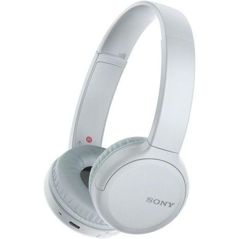 SONY Casque audio Bluetooth - Blanc - WH-CH510W