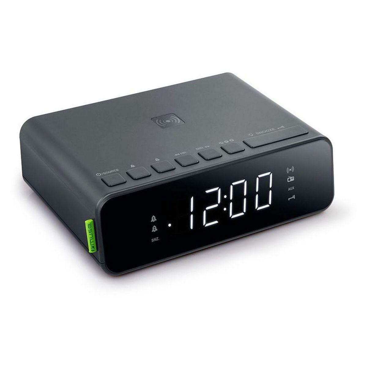 Radio réveil - Noir - M-175 WI