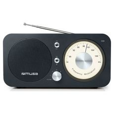 MUSE Radio Bluetooth - Noir - M-095 BT