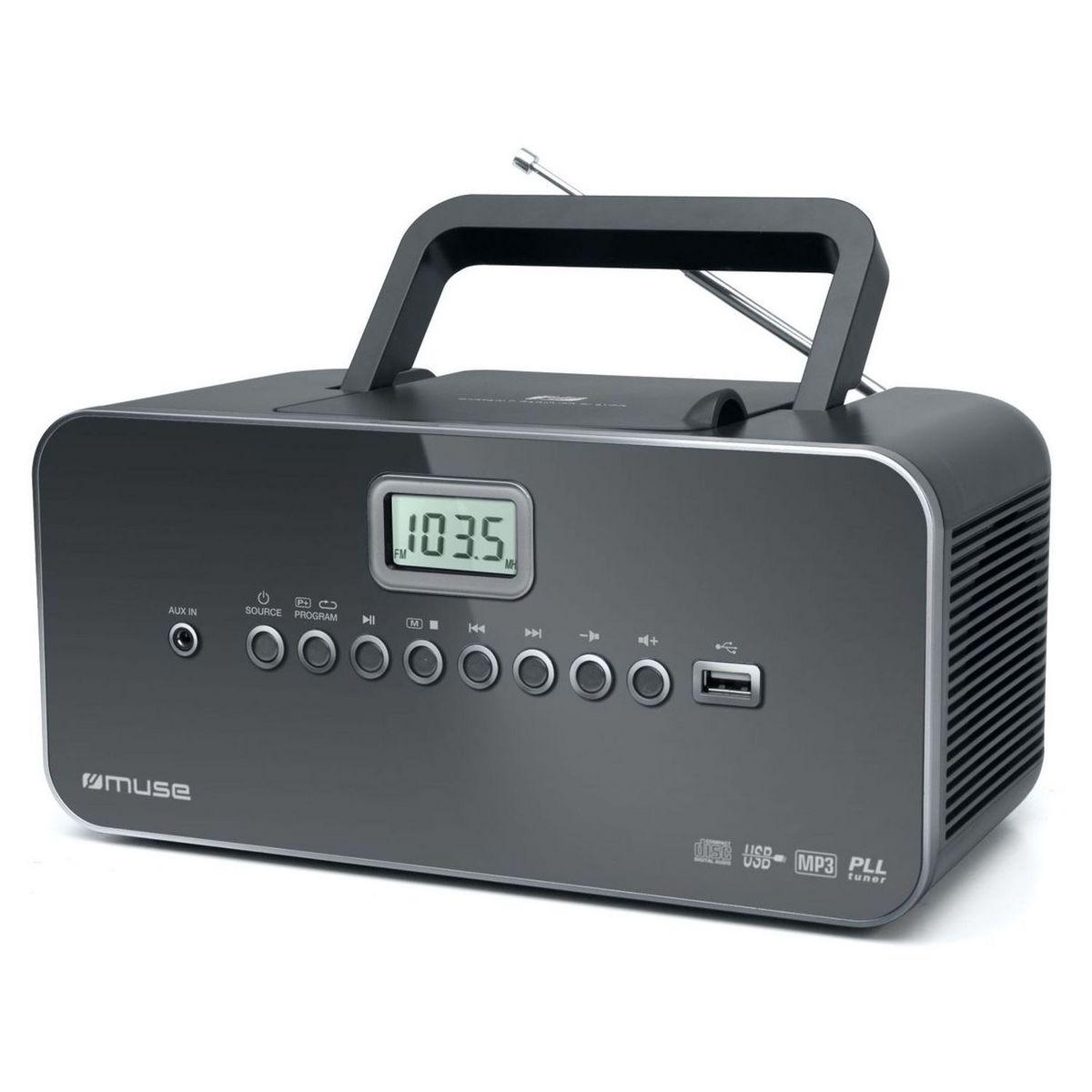 Radio CD/MP3/USB - M-28 DG - Noir